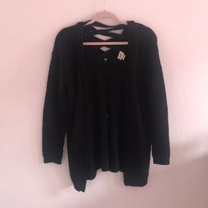 Black cardigan from Buckle